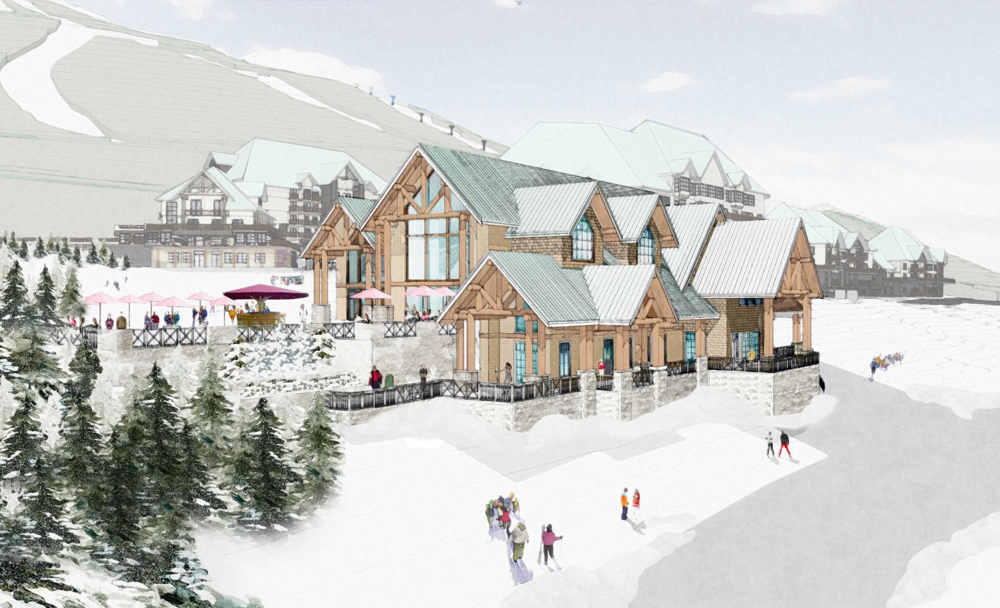 Valemount Glacier Resort Day Lodge